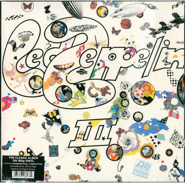 Led Zeppelin ‎– Led Zeppelin III - Remastered - Vinyl LP
