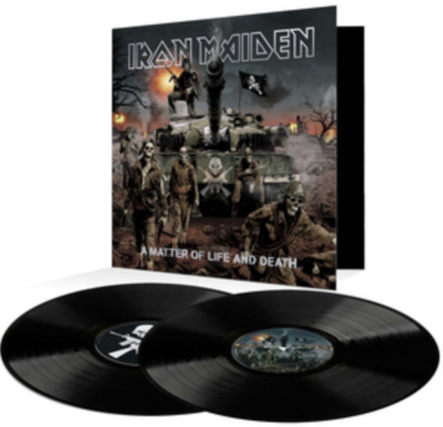 Iron Maiden ‎– A Matter of Life and Death - Vinyl 2LP