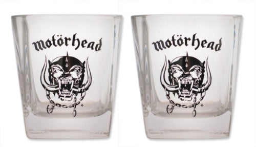 Motorhead - Everything Louder Than Everything Else - Whisky Glass - Pack 2