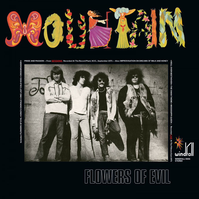 Mountain - Flowers Of Evil - 180G Vinyl LP