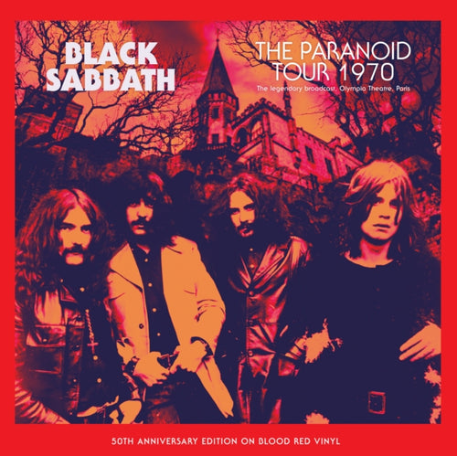 Black Sabbath - The Paranoid Tour 1970 - 50th Anniversary Edition on Blood Red Vinyl LP