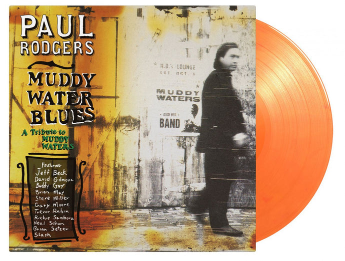 Paul Rodgers - Muddy Water Blues - Limited Edition 180G Orange Vinyl 2LP