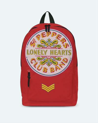 Beatles - Lonley Hearts Red - Classic Rucksack