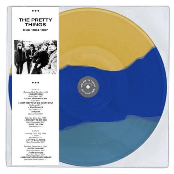 The Pretty Things ‎– BBC 1964-1967 -  Coloured Vinyl LP, 45 RPM Mono Limited Edition