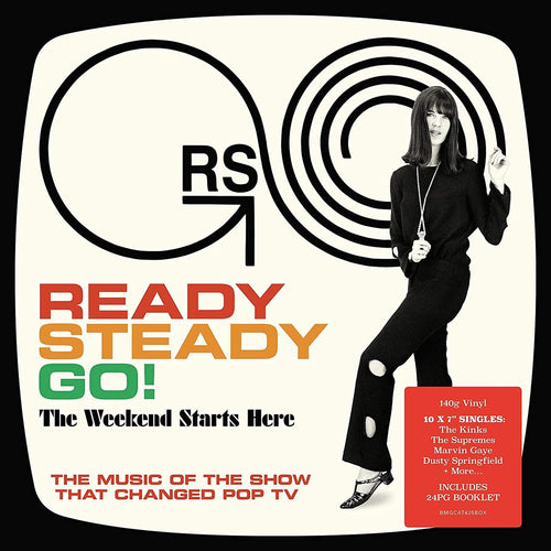 Various Artists - READY STEADY GO! THE WEEKEND STARTS HERE - 10 x 140G 7