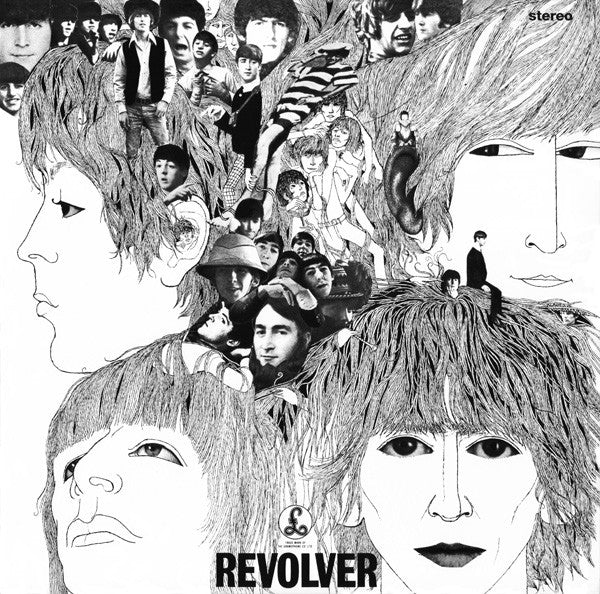 The Beatles ‎– Revolver - Remastered Stereo Vinyl LP