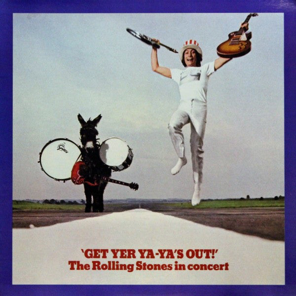 The Rolling Stones ‎– Get Yer Ya-Ya's Out! - The Rolling Stones In Concert - Clear Vinyl LP
