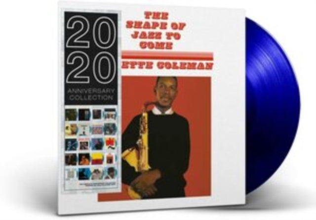 Ornette Coleman - The Shape of Jazz to Come - 180G Blue Vinyl LP