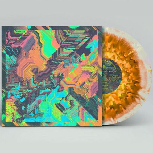 Psychedelic Porn Crumpets - Shyga! The Sunlight Mound - UK/EU Exclusive 3 Colour Merge Vinyl Edition LP