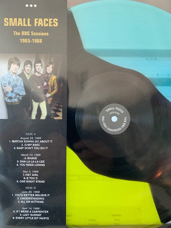 Small Faces ‎– The BBC Sessions 1965-1968 -  Coloured Vinyl LP, 33 RPM Mono Limited Edition