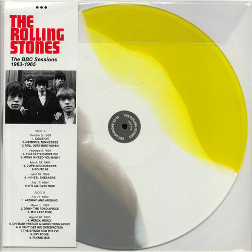 The Rolling Stones ‎– The BBC Sessions 1963-1965 -  Coloured Vinyl LP, 33 RPM Mono Limited Edition