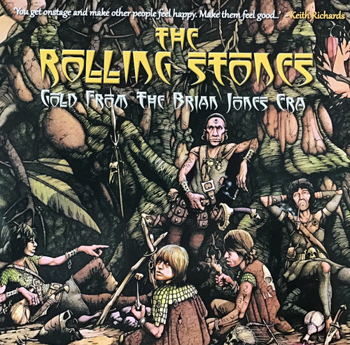 The Rolling Stones ‎– Gold From The Brian Jones Era - Numbered Limited Edition Gold Vinyl 2 x 10