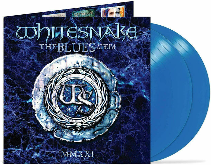 Whitesnake ‎– The Blues Album - Ocean Blue Vinyl 2LP
