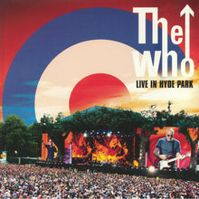 The Who - Live In Hyde Park - Red White and Blue Vinyl 3LP