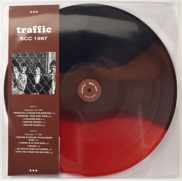 Traffic ‎– BBC 1967 -  Coloured Vinyl LP, 45 RPM Mono Limited Edition