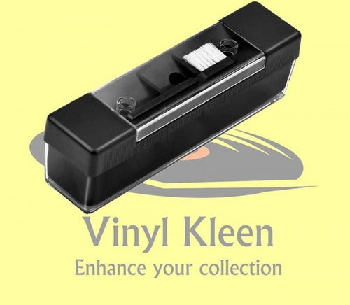 Vinyl Kleen Velvet Pad Record Cleaner with Stylus Brush