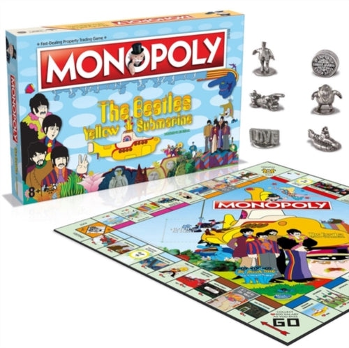 The Beatles - Yellow Submarine Monopoly Board Game