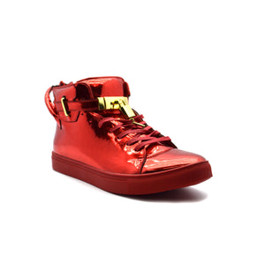 RED PATENT ENCORE