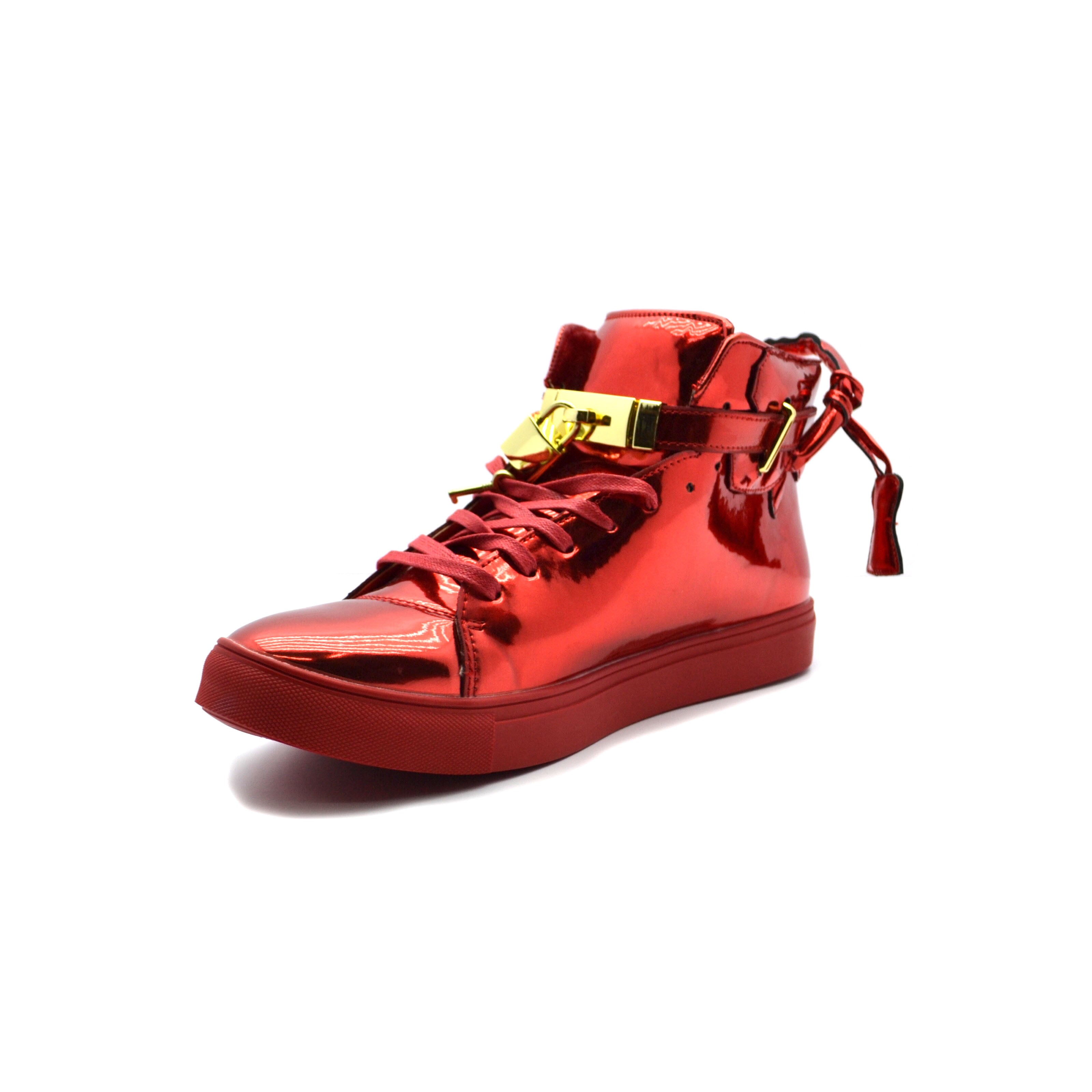 RED PATENT ENCORE - Bacana Clothing + Shoes