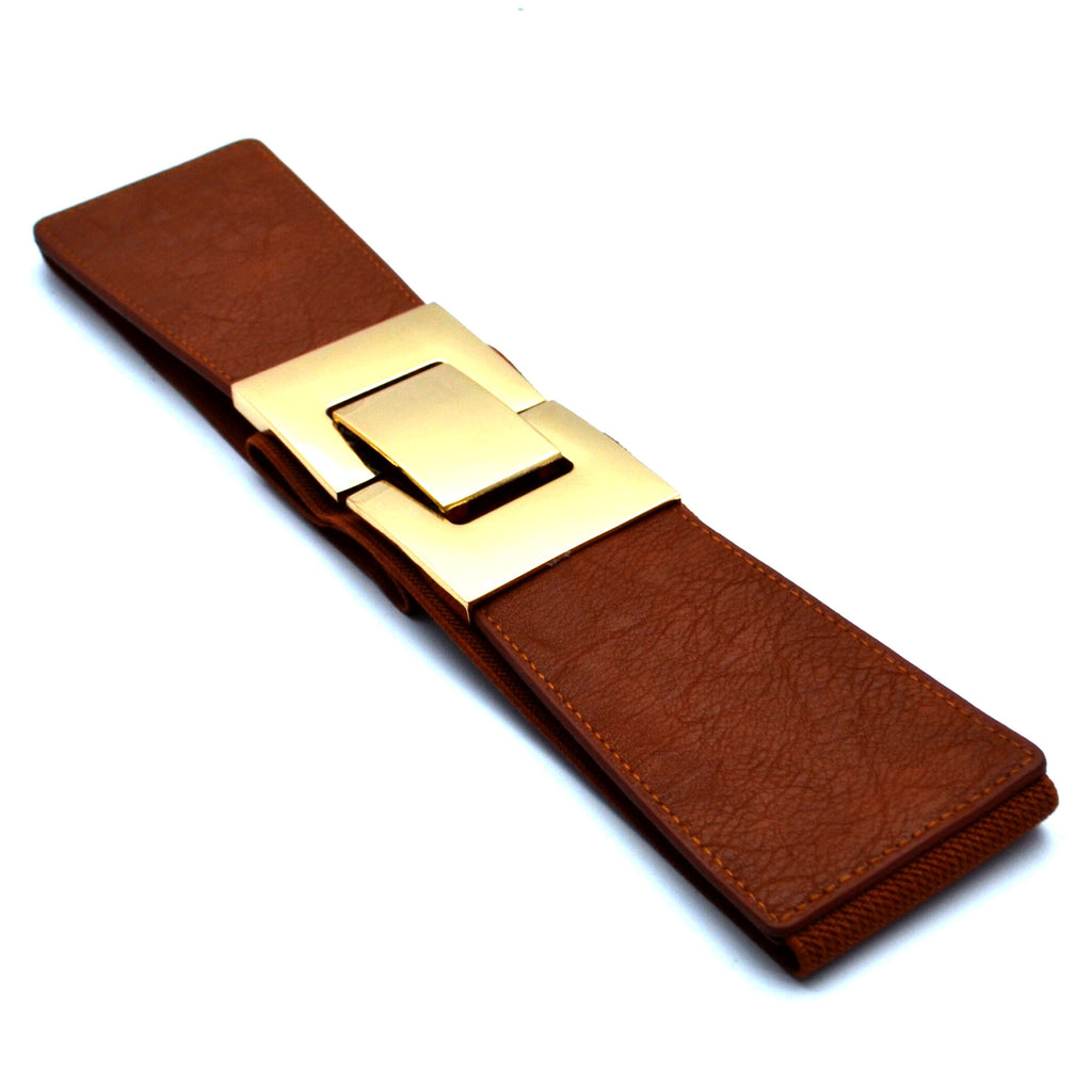 BROWN GOLD BELTS - Bacana Clothing + Shoes