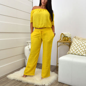 LORENA ADAMS BLOUSE YELLOW