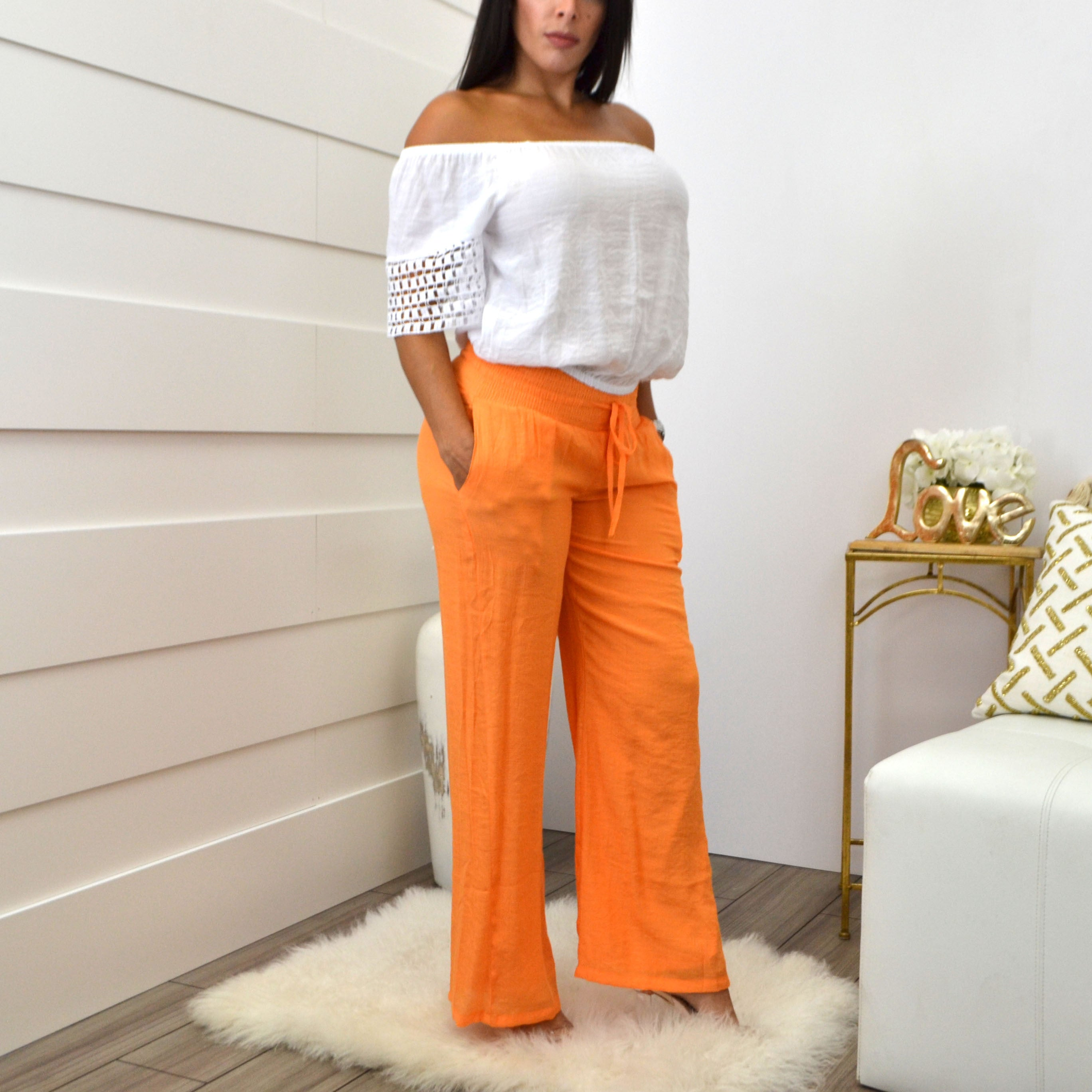 LORENA ADAMS BLOUSE WHITE - Bacana Clothing + Shoes