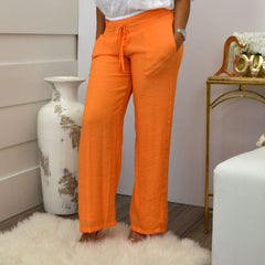 LORENA ADAMS PANTS ORANGE