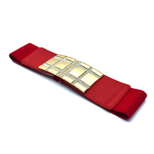 RED GOLD BELTS