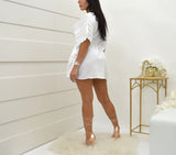 Sea Spice White Dress NW1073