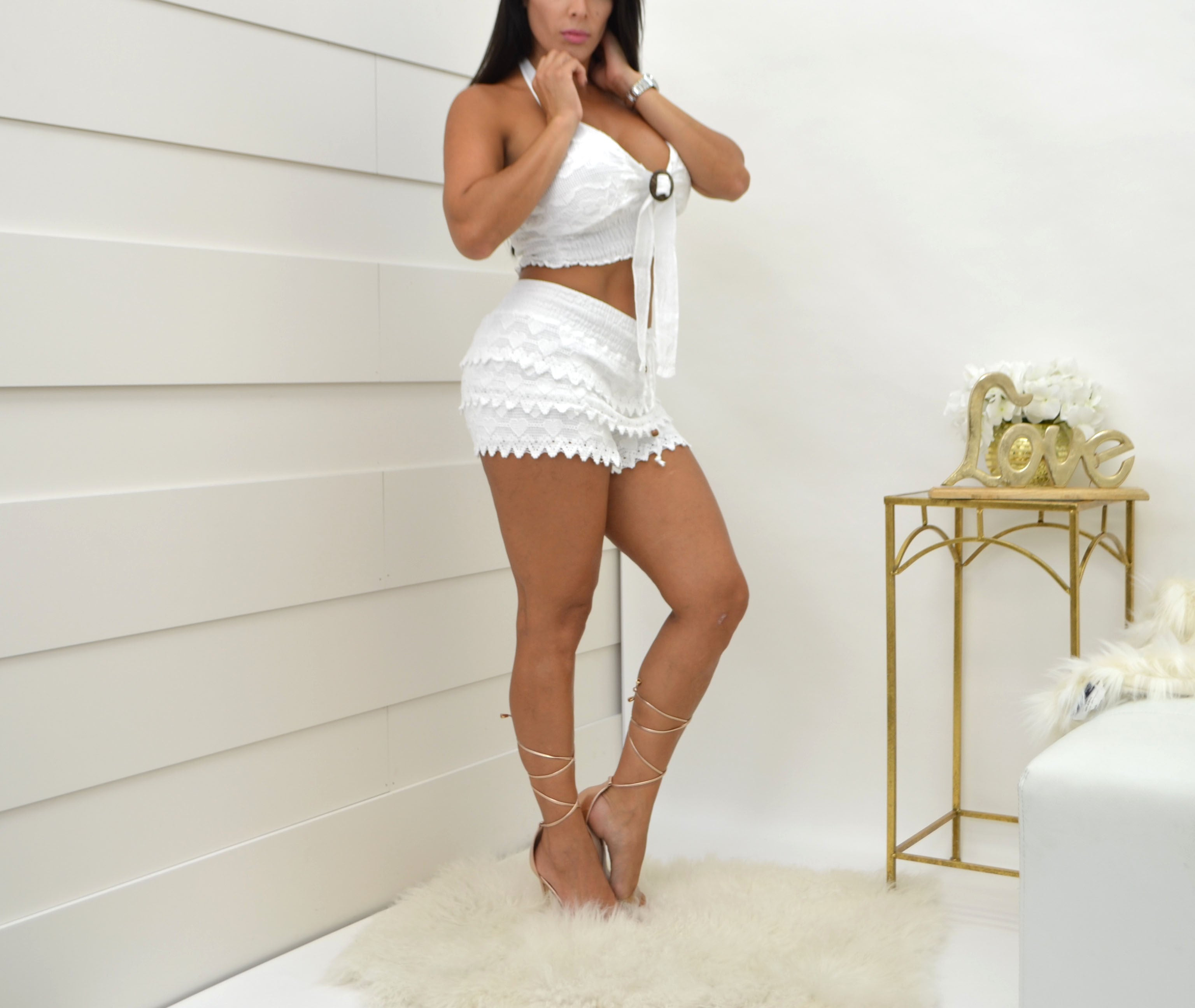 Sea Spice White Blouse NW1033 - Bacana Clothing + Shoes