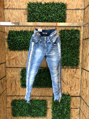 Women fashion jeans E1976 - Bacana Clothing + Shoes