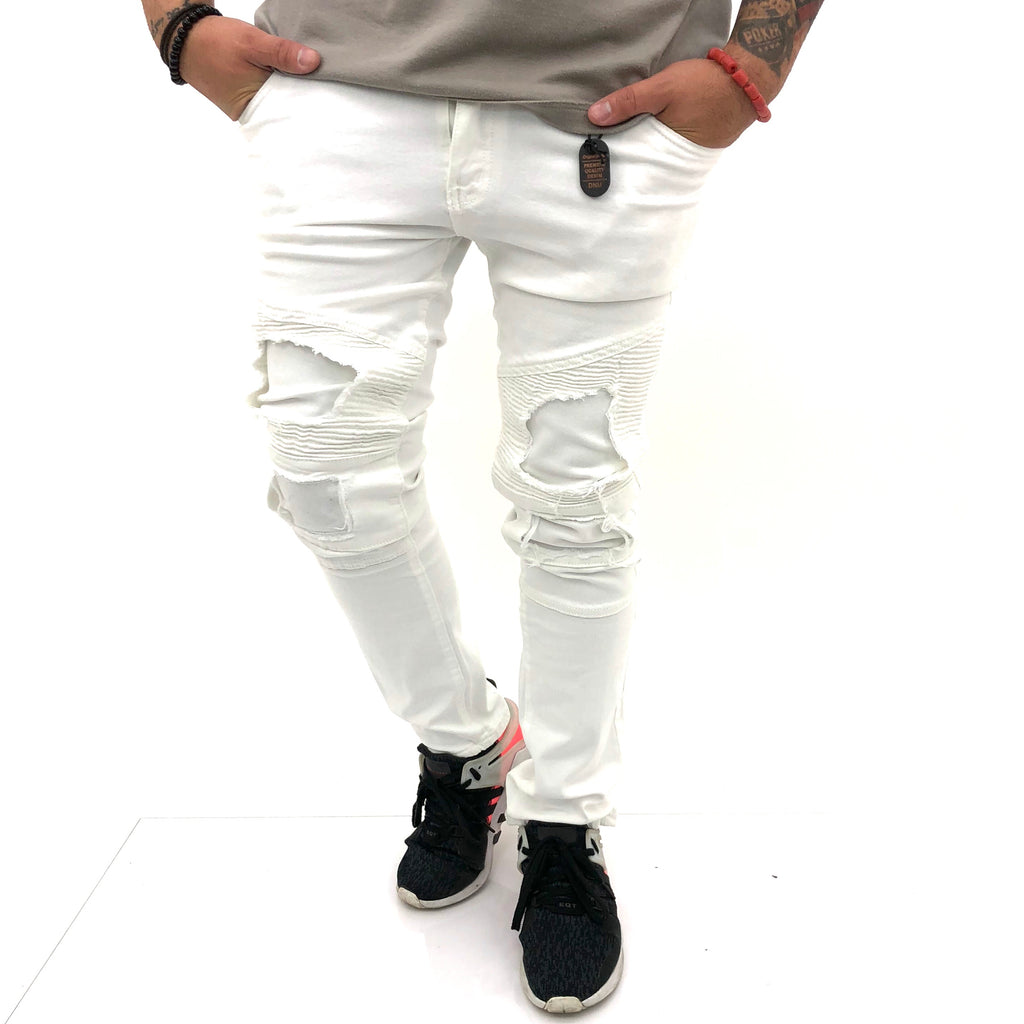 Men Jeans IZ17010 - Bacana Clothing + Shoes