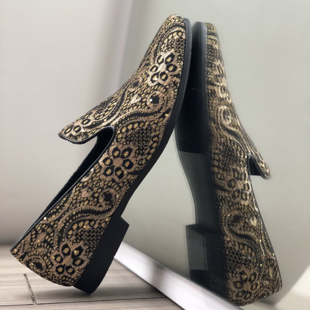Shoes gold - Bacana Clothing + Shoes