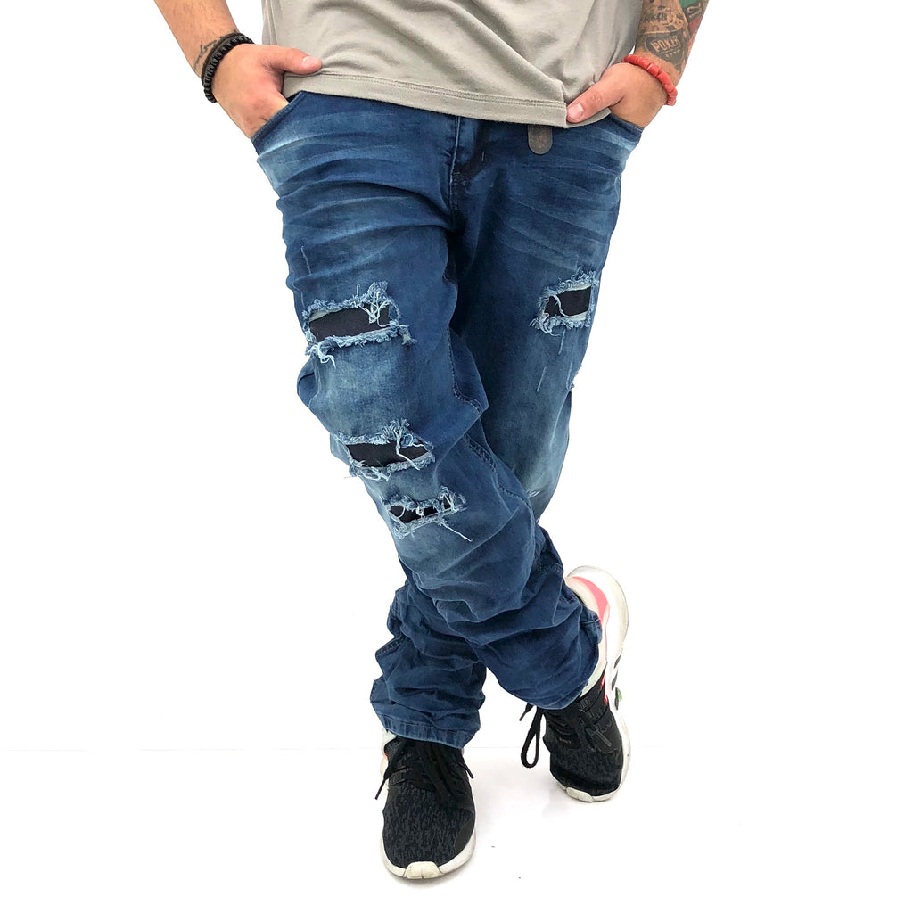 Men jeans IZ17011 - Bacana Clothing + Shoes