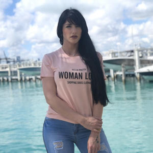 Women's T-shirt pink LCA1522 - Bacana Clothing + Shoes
