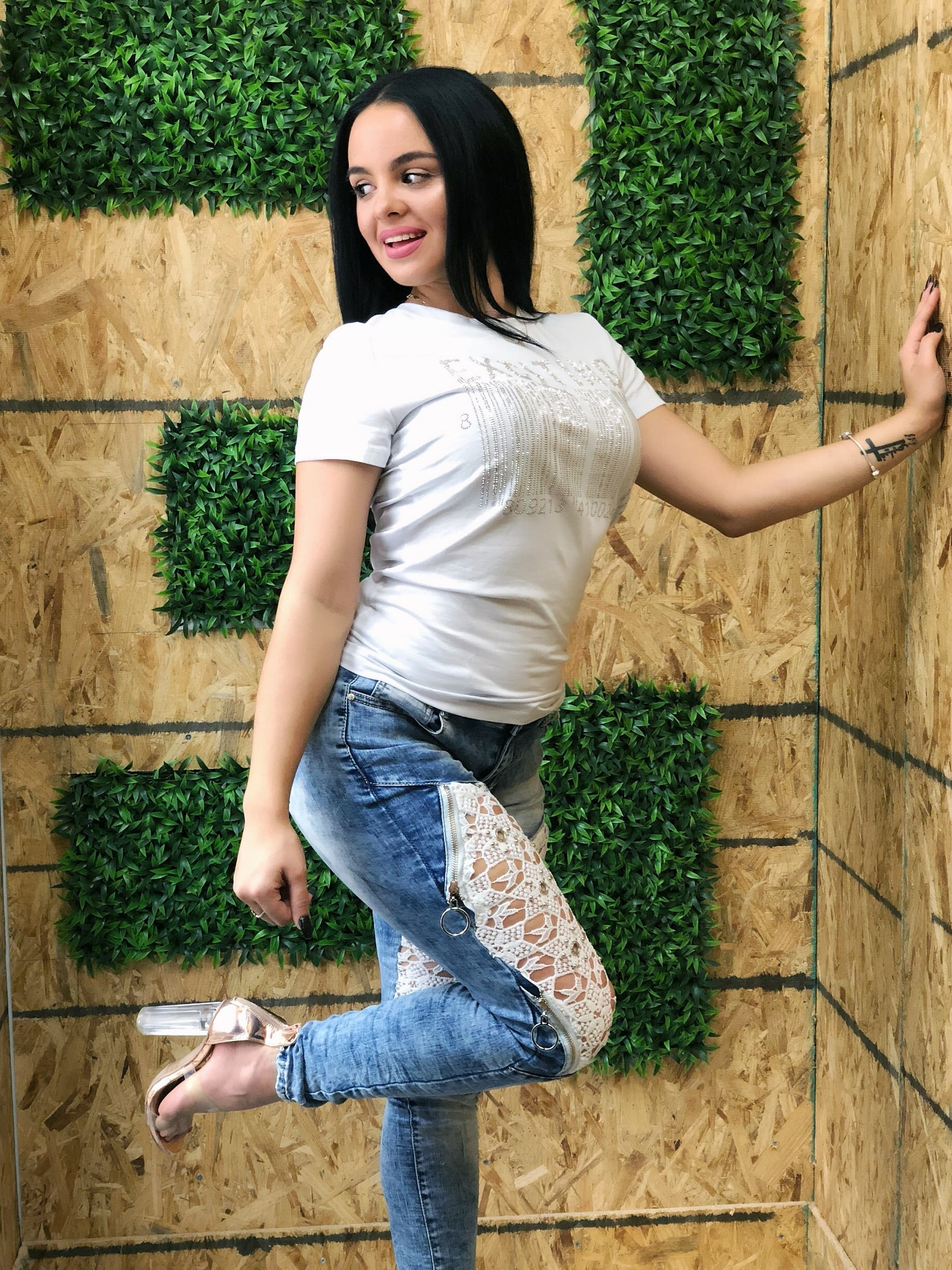 Women Jeans A849 - Bacana Clothing + Shoes