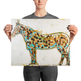 Horsin Around Art Print