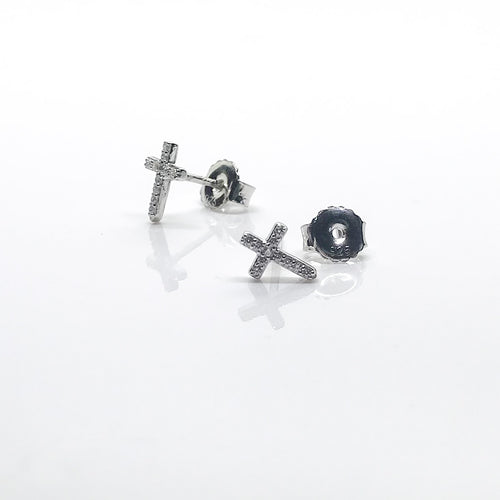 Girls Cross Earrings - by Galia