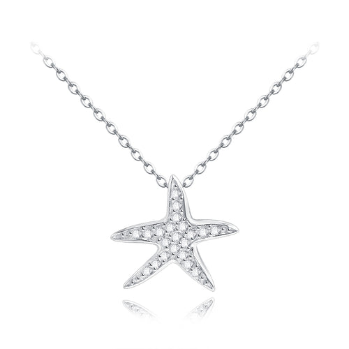 Starfish Zirconia Necklace - by Galia