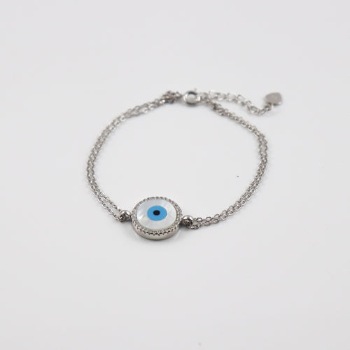 Nacre Eye Bracelet - by Galia