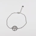 Silver Tree of Life Bracelet - by Galia