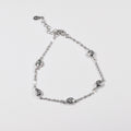 Drops Clear Zirconia Bracelet - by Galia