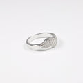 Double Leaf Zirconia Ring - by Galia