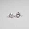 Apple Mini Zirconia Earring - by Galia