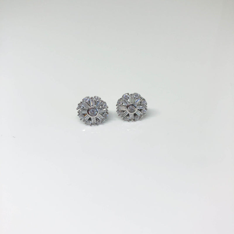 Sunflower Stud Earrings - by Galia