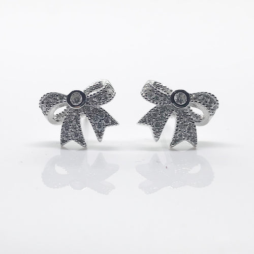 Lace Stud Earrings - by Galia
