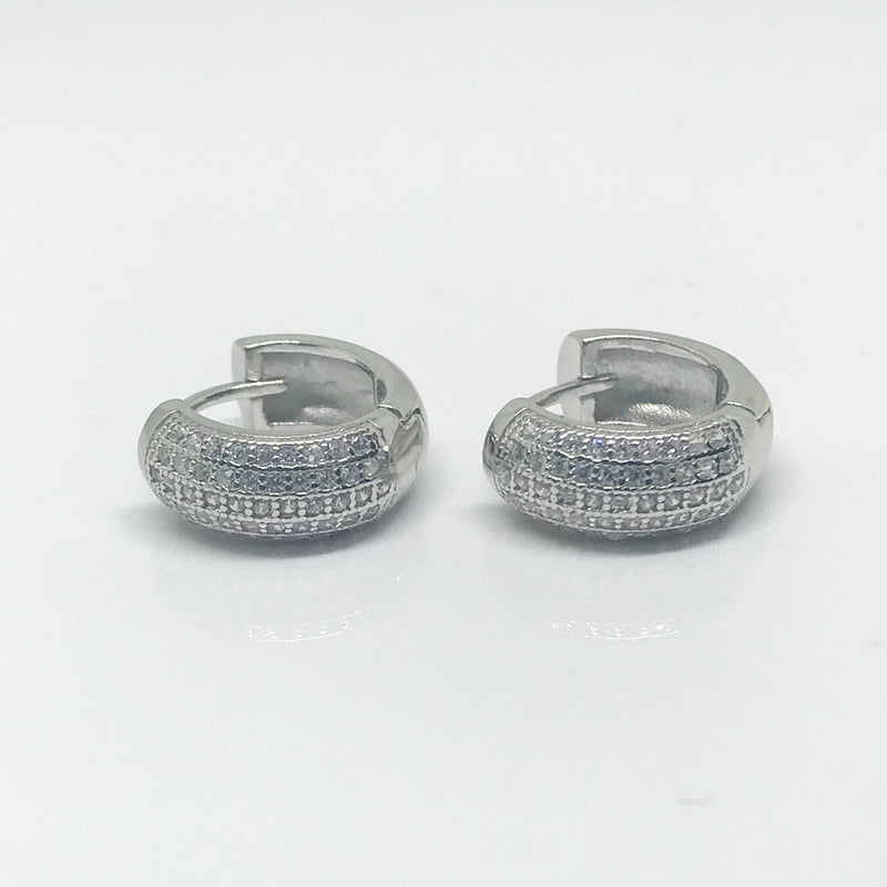 Huggie Hoop Earrings - by Galia