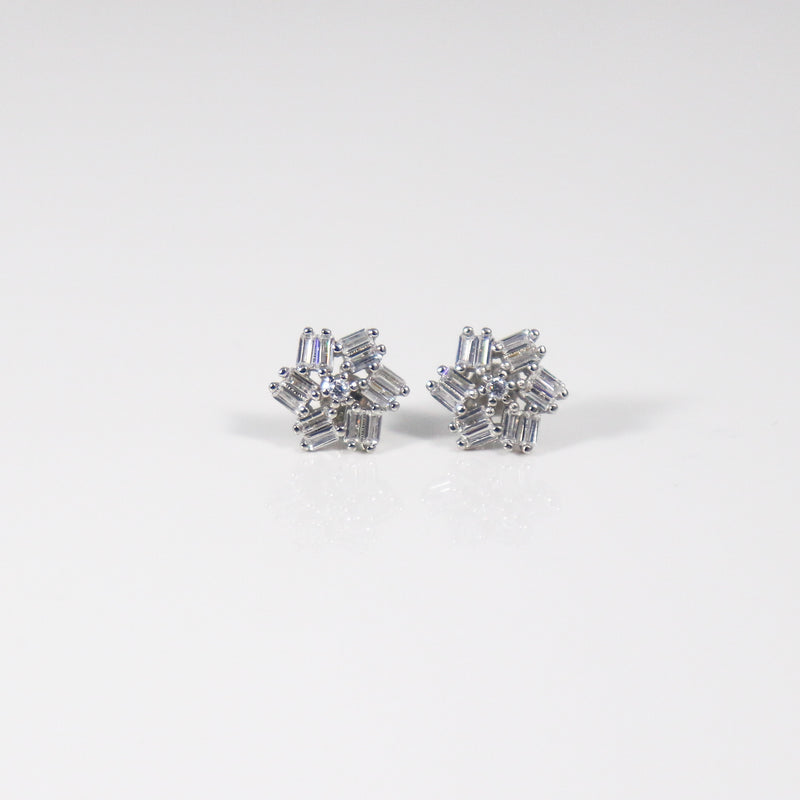 Arctic Stud Earrings - by Galia