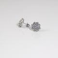 Spiral Stud Earrings - by Galia
