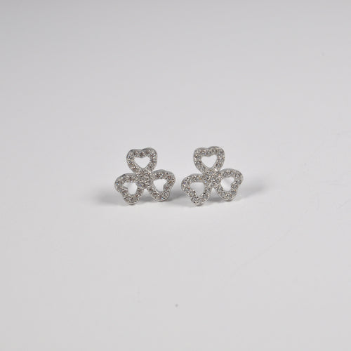 Trebol Heart Earring - by Galia